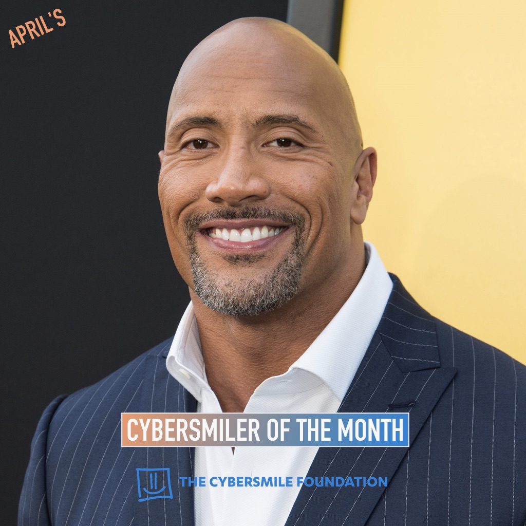 Dwayne Johnson Wins Cybersmiler Of The Month Award For April