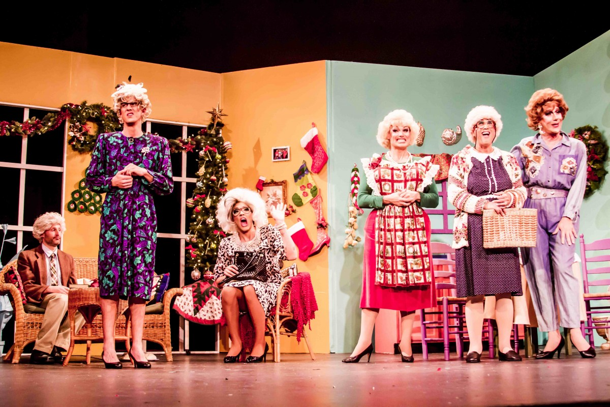 golden girls christmas special fundraiser