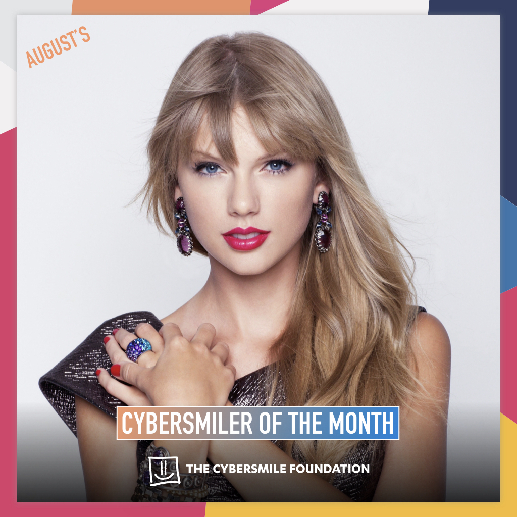 Taylor-Swift-Cybersmiler-of-the-month-Award-2019